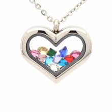 Cheap bulk love memory photo locket pendant jewelry