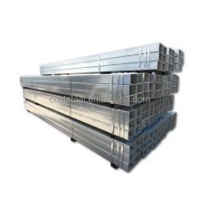 All Size Galvanized Square Pipe Q235 50*37*4.5mm -400*102*12.5mm No Alloy Square Tube