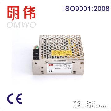 S-15-5 15W 5V 3A Fuente de alimentación más económica de calidad