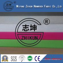 Tissu non tissé de Spun-Bond de polypropylène de 100% pp dans la conception croisée de Cambrella
