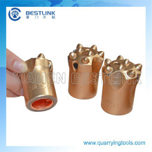 Tapered Stone Drill Button Bits Chisel Bits