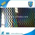 PET 3d laser self adhesive film /3d hologram lamination film