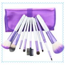 Outils de pinceau de fard à paupières Foundation Set de 10 pinceaux de maquillage