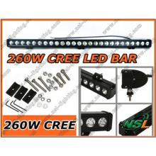 47inch 12V24V 260W CREE LED Work Light Bar SUV 4X4 Truck Boat Marine Light