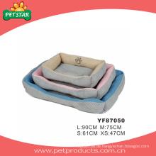 Hundebetten mit abnehmbarem Kissen (YF87050)