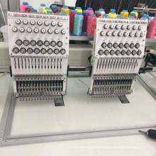 Cording 2 Heads multi functional computerized embroidery machine