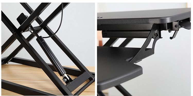 Convertible White Standing Desk