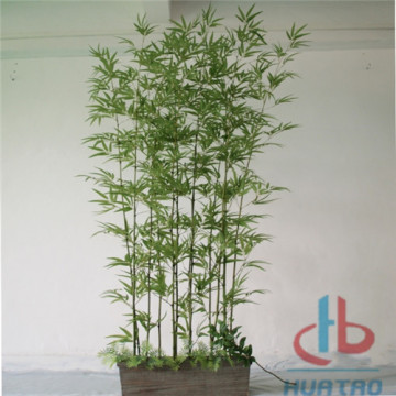 Árvore de bambu artificial UV anti