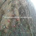 Rock fall protection fencing slop protect netting