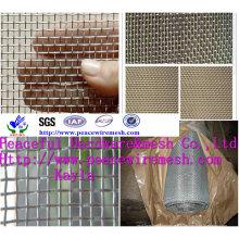 Maille métallique carrée galvanisée à chaud
