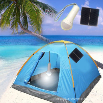 Portable Solar LED Torch Solar Powered Camping Lamp (EB-89594)
