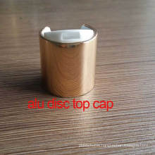 24/410 Aluminium Cosmetic Disc Top Lid/Cover/Cap