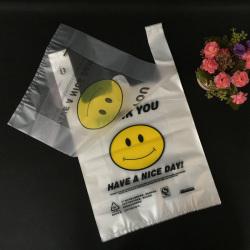 PO material garbage bag transparent plastic bag