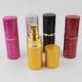 vente en gros 20 ml coloré facile recharge en aluminium parfum atomiseur bouteille