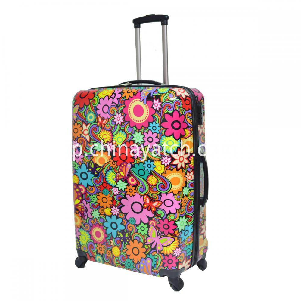Aluminum Trolley PC Luggage Set