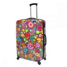 Nice Printing ABS&PC Luggage Set with Aluminum Trolley