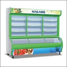Gabinete de exhibición del gabinete del congelador para el supermercado del restaurante