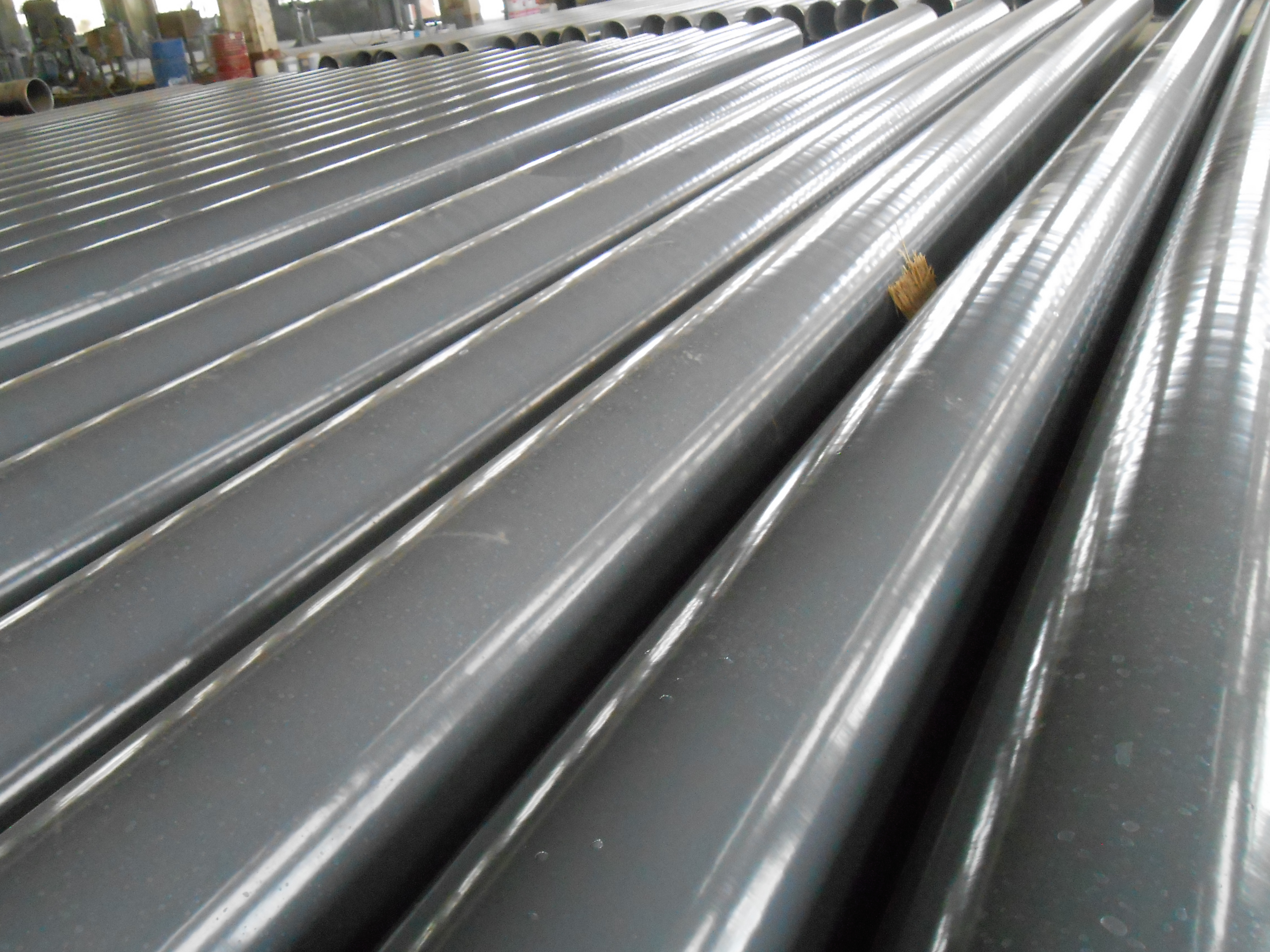 External PP Coated ERW Carbon Steel Pipe