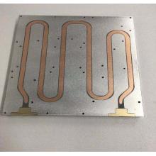 CNC Liquid cooling plate cooling Aluminum disc 350mm