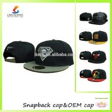 Hip hop embroidery logo flat hat baseball cap snap caps