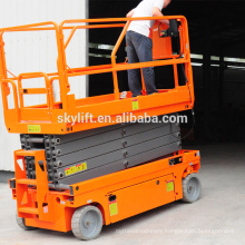 Full electric self-propelled scissor lifts platform