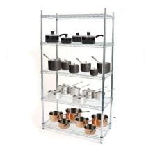 Cozinha de metal do cromo Cozinha Rack de fio