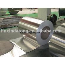 Bobine d'aluminium enduite de couleur