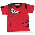 Neige lavage bébé enfants T-shirt dans les vêtements pour enfants avec coton qualité Sqt-615