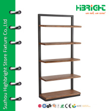Wooden layer display shelf for pillow and cushion