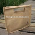 wooden handle shopping bag