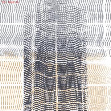 China Poliéster 100% do tecido do forro do estiramento (PPF-056)