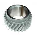Shaving Howo crankshaft gear dengan Hobbing