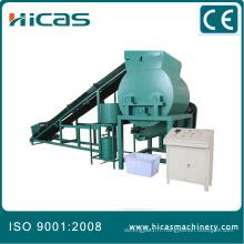 Machines à mélanger à palettes à bois pressées Qingdao