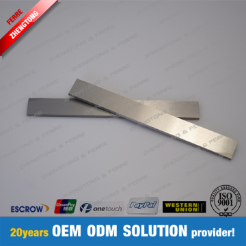 Tungsten Carbide Fixed Knife voor zuigtrommel
