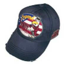 Washed Baseball Cap with Applique (6PWS1220)