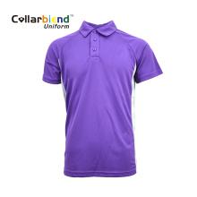Удобная дышащая рубашка-поло унисекс с короткими рукавами нестандартного размера