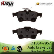 D1564-7957 Rear Auto Brake Pad for 2012 Ford Focus