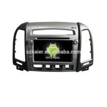 Четырехъядерный автомобиль DVD,беспроводной,БТ,зеркальная связь,видеорегистратор,МЖК для Хундай сантафе низкий уровень 2010-2012