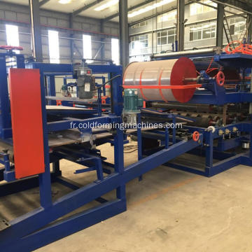 Production de panneaux sandwich EPS formant la machine