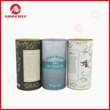 Renewable Design for for Biodegradable Can Customized Tinplate Lid And Bottom Paper Tube export to Netherlands Supplier