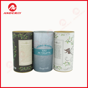 Customized Tinplate Lid And Bottom Paper Tube