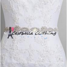 2017 heiße Verkaufsqualität Rhinestone Applique Großhandelsrhinestone-Gurte Rhinestone-Zutaten für Hochzeits-Kleid