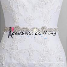 2017 hot sale high quality Rhinestone Applique Wholesale Rhinestone Belts Rhinestone Trimmings For wedding Dress
