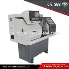 Mini CNC meter Torno CK0640A gang ferramenta torno cnc