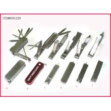 Cortaúñas plegable de acero inoxidable, productos para el cuidado de las uñas, herramienta para uñas (NC301229)