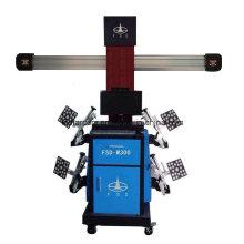 Instrumento de posicionamento de quatro rodas de caminhão resistente 3D