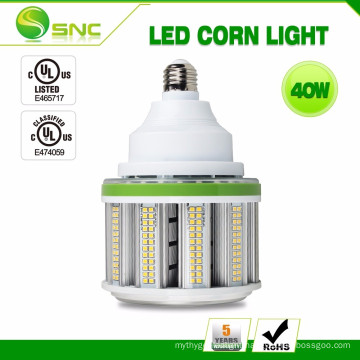 Factory wholesale 40w Automatically Power-Reducing Function best quality led corn cob