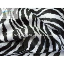 Zebra padrão impresso Tecido tricotado para sofá