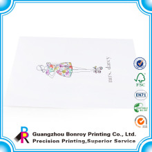 Custom Different Size White Color Beautiful Photo Envelope Printing