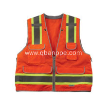 personal style high vis waistcoat with pockets